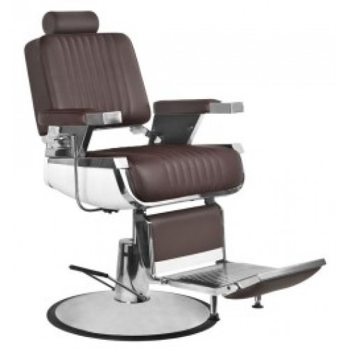 Барбер кресло Роял 2 коричневое