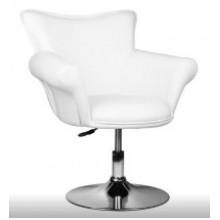 Кресло парикмахерское FLOWER белое