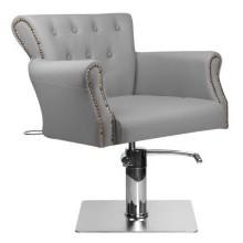 Кресло парикмахерское BER 8541 серое