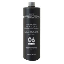 My.Organics Color Oxi 6vol Developer 1,8%, 1000мл