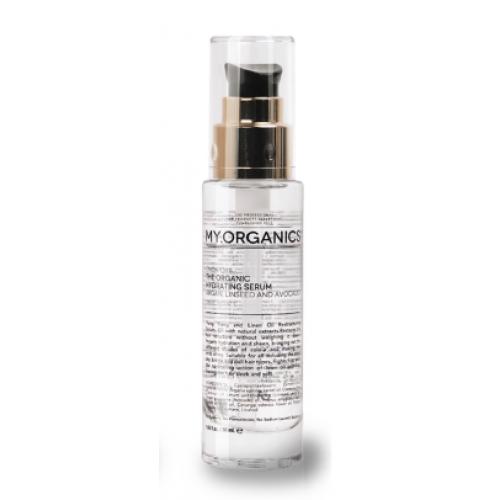 Органическая сыворотка для восстанавления структуры волосс с маслами аргана, иланг-иланга