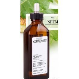 Органическое масло Ним для стимулирования роста, увлажнения, уменьшения ломкости волос