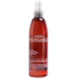 Восстанавливающий органический спрей для блеска с маслом аргана