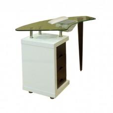 Стол для маникюра Ibis glass