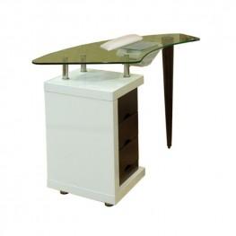 Стол для маникюра Ibis glass для салона красоты
