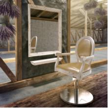 Кресло парикмахерское Idylla