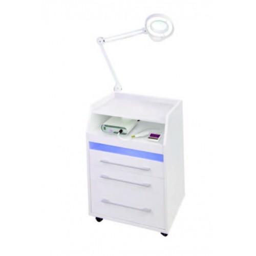 Тележка для маникюра-педикюра с бактерицидной лампой серия В